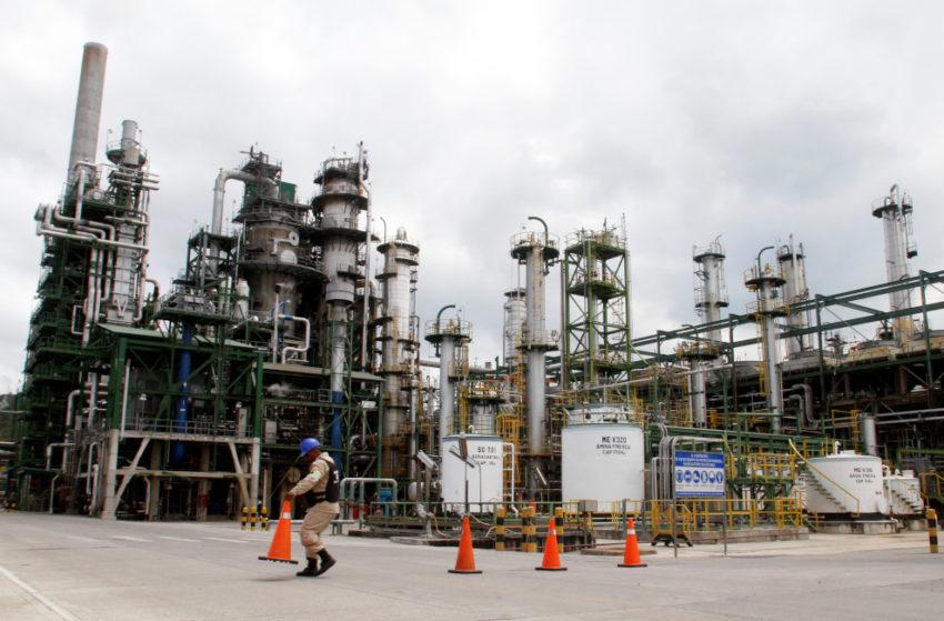 Vista general de la Refinería Esmeraldas, en una imagen de archivo de 2017.