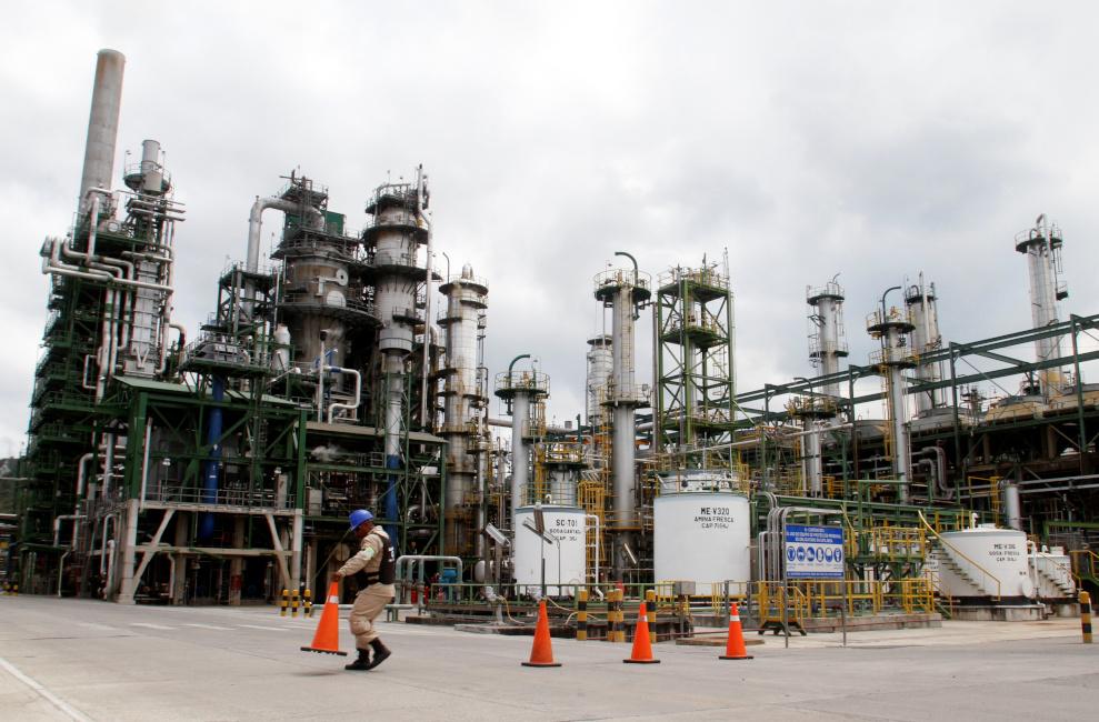 Refinería Esmeraldas trabajará al 50% de su capacidad durante 40 días