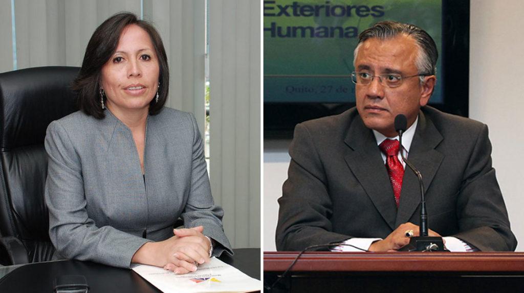 Alexis Mera y María de los Ángeles Duarte detenidos por un supuesto delito de concusión