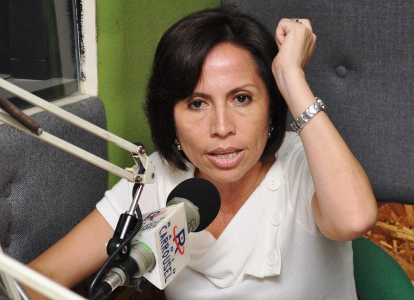 María de los Ángeles Duarte, exministra de Transporte y Obras Públicas.