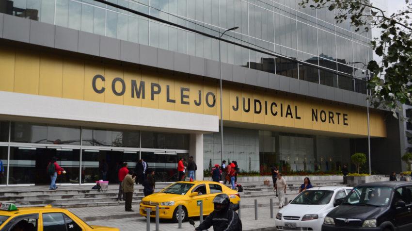 El Complejo Judicial Norte, ubicado en el sector de Iñaquito, es donde funcionan los tribunales distritales de Quito.