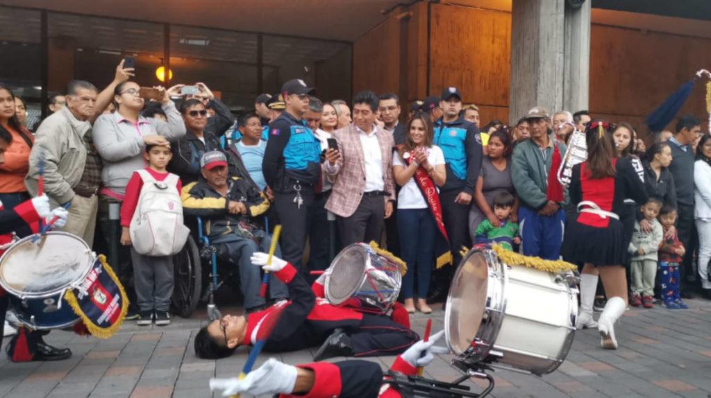 El primer 'Quitunes' alegró el Centro Histórico de Quito
