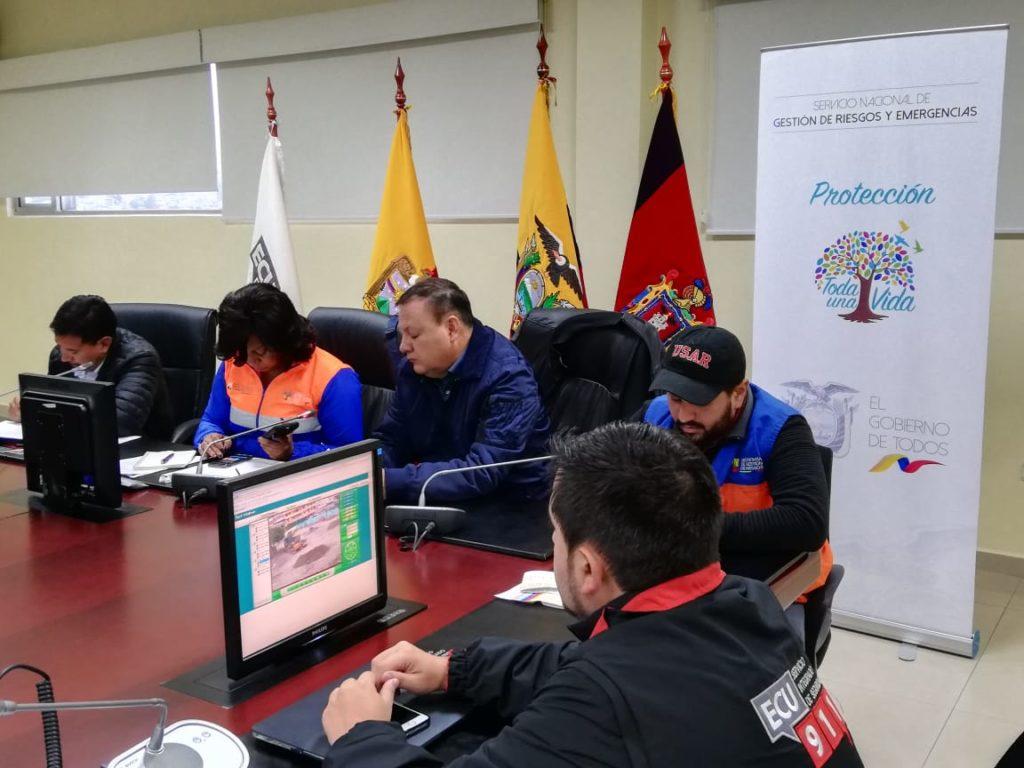 Seis heridos en Ecuador tras el terremoto, la madrugada del domingo  26 de mayo