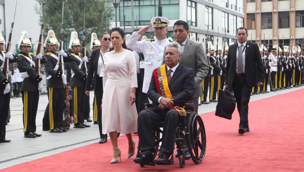 Lenín Moreno presentó este 24 de mayo el Informe a la Nación, en su segundo año de mandato