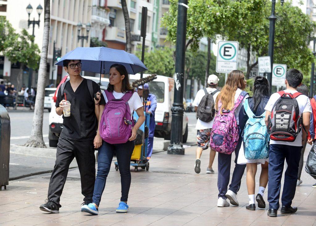 Guayaquil caliente: la temperatura promedio aumentó un grado desde 1960