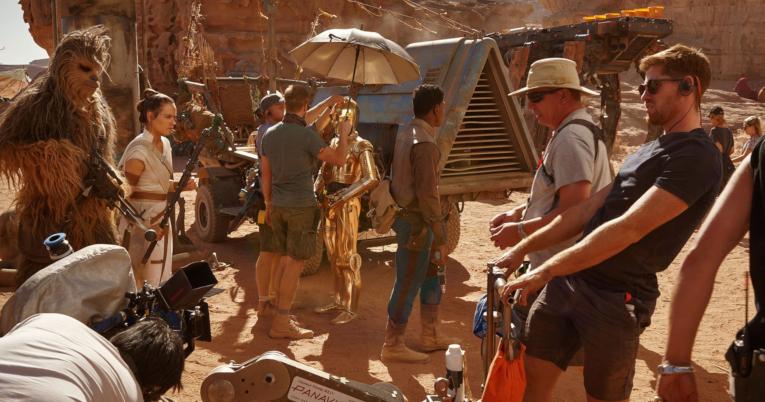 Rodaje de Star Wars en Wadi Rum