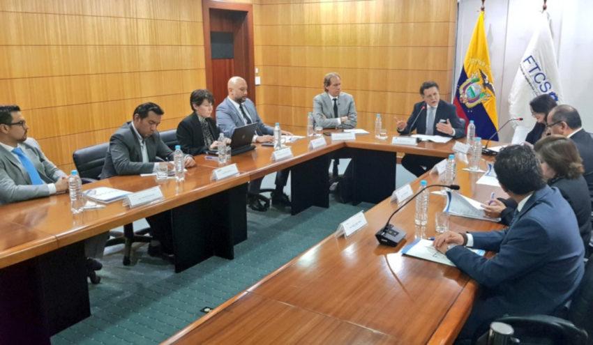 Los integrantes de la Función de Transparencia sesionaron el lunes 20 de mayo de 2019.