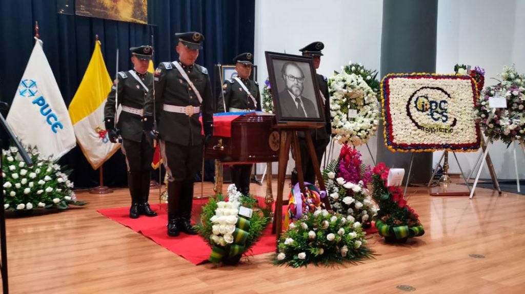 El último adiós a Julio César Trujillo entre anécdotas, recuerdos y promesas de continuar su legado