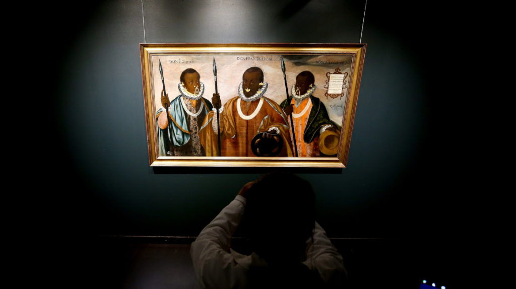 El MuNA expondrá por tres meses obra 'Los tres mulatos de Esmeraldas', de 1599