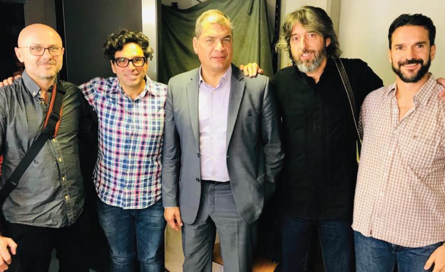 Dos empresas relacionadas con Podemos siguen funcionando en Ecuador