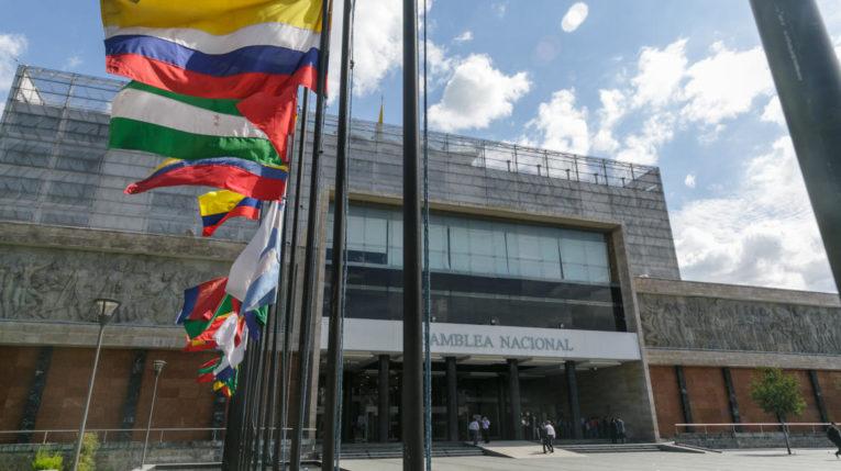 Edificio de la Asamblea Nacional del Ecuador.