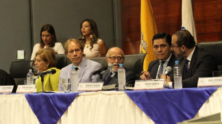 El Pleno del Consejo de Participación Ciudadana durante su última sesión, el 13 de mayo del 2019.