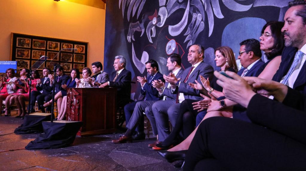 El presidente Moreno crea la comisión internacional contra la corrupción