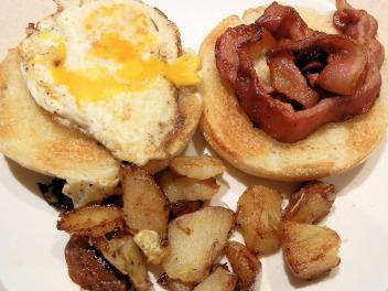 Desayunar mal