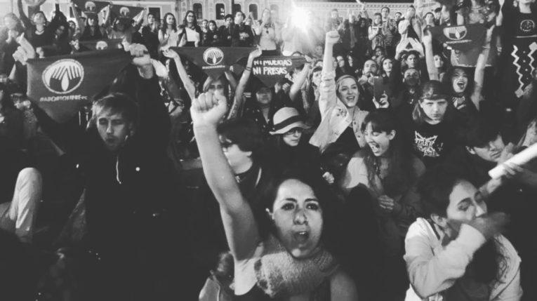 Marcha organizada por el colectivo Vivas nos queremos.