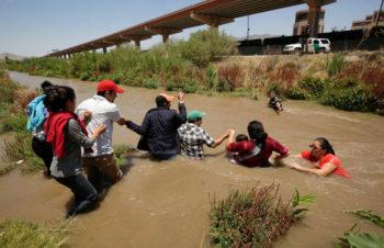 migrantes río Bravo