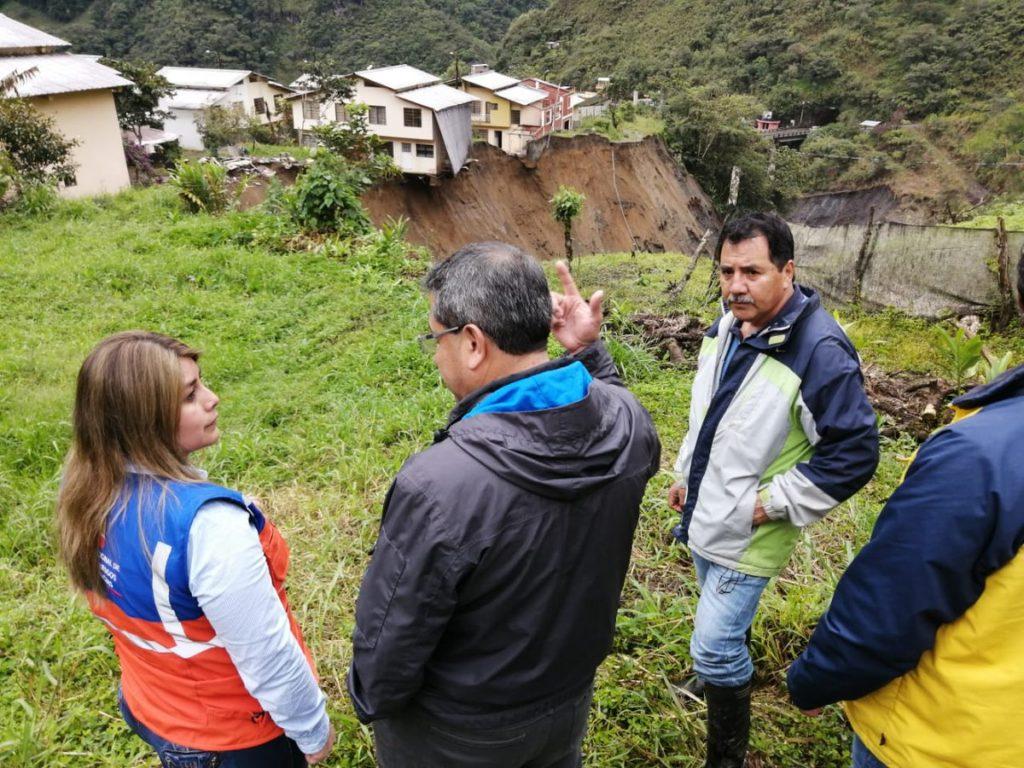 Lluvias en Tungurahua dejan un fallecido y 147 afectados