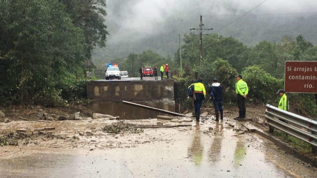 15 ríos están en umbrales de alarma a causa de las lluvias en todo el país