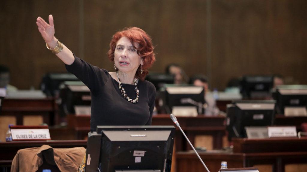 María Augusta Calle deja de ser la Embajadora en Cuba