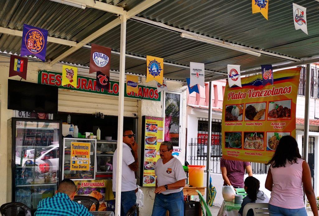 Migrantes tienen su 'Pequeña Venezuela' en Guayaquil