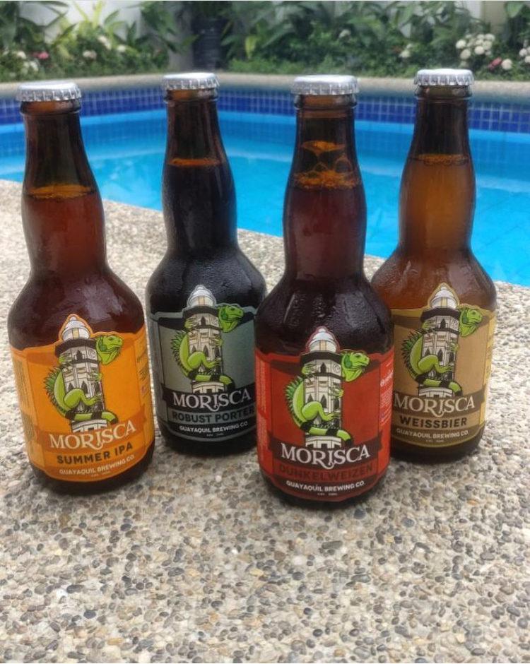 Morisca es parte de un emprendimiento llamado Guayaquil Brewing Co.