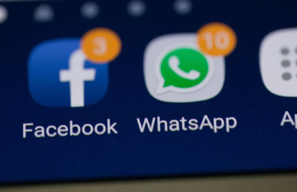 Usuarios reportan caída mundial de WhatsApp, Facebook e Instagram