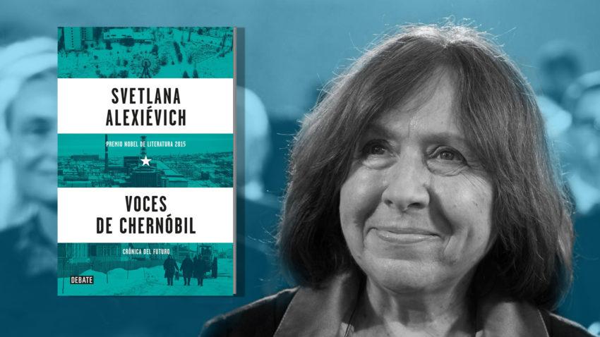 Svetlana Alexievich y 'Voces de Chernóbil'.