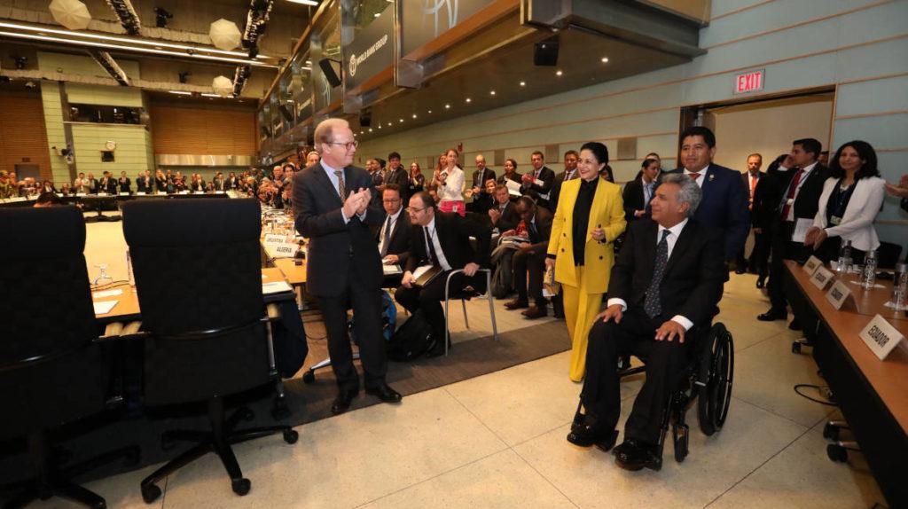 Banco Mundial aprueba crédito de USD 500 millones para Ecuador