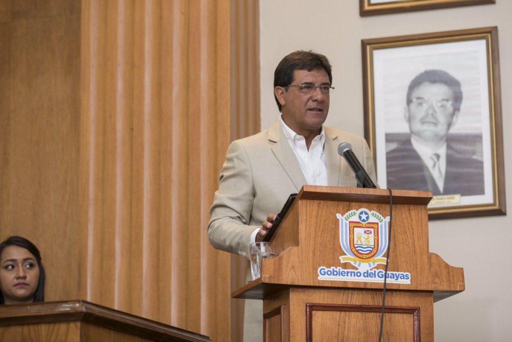 Morales: El 98% del presupuesto de la Prefectura del Guayas en 2019 está comprometido