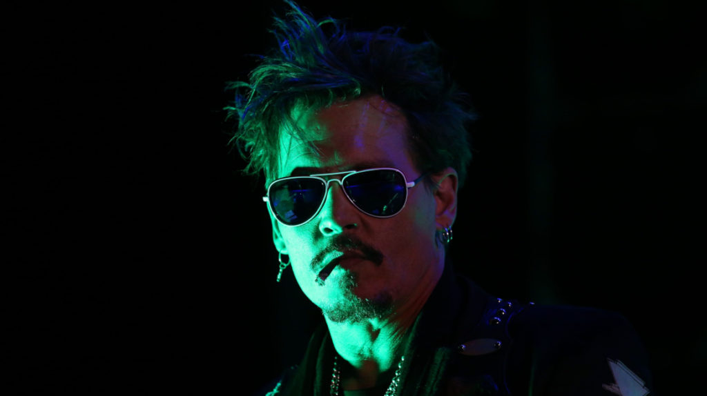Johnny Depp canta en el nuevo sencillo de los Hollywood Vampires