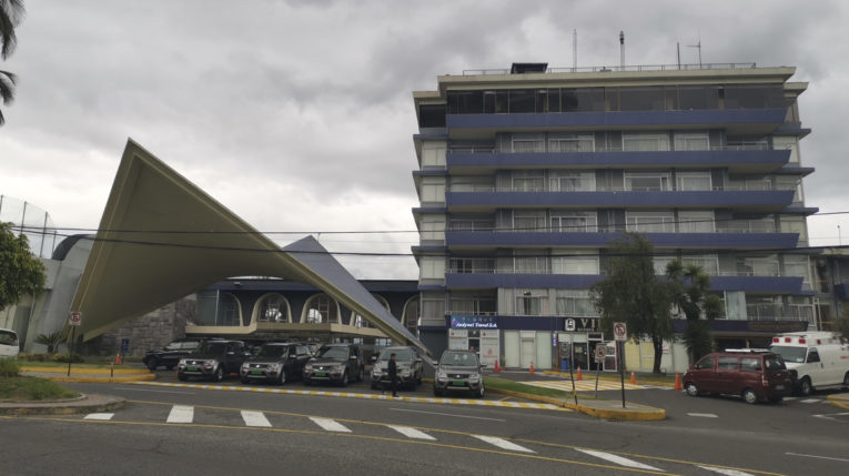 Vista del Hotel Quito, en el norte de la ciudad, el 9 de junio de 2019.