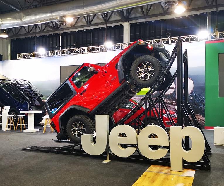 El modelo Rubicon de Jeep es uno de los más costosos en Ecuador. El precio sugerido es de USD 99 mil