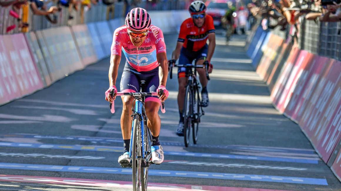 Richard Carapaz en el Giro d'Italia