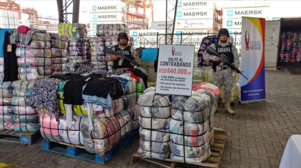El 92% de la recaudación de la Aduana en Ecuador viene de 2.232 usuarios