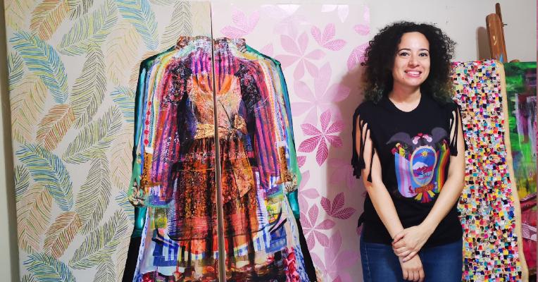 Diana Gardeneira recibe a PRIMICIAS en su hogar, ubicado al norte de Guayaquil. Cuenta que en su propio barrio ha presenciado acoso verbal hacia las mujeres.