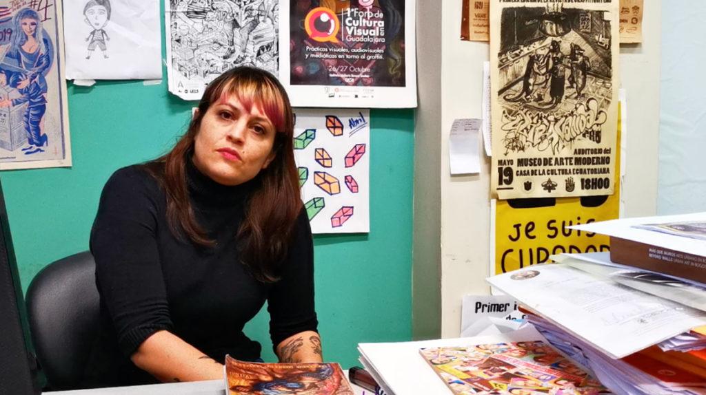 María Fernanda López: Quito es la capital graffitera de Ecuador