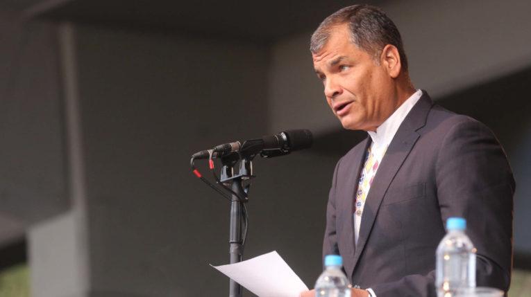 El expresidente Rafael Correa es el presidente del Instituto de Pensamiento Político Eloy Alfaro.