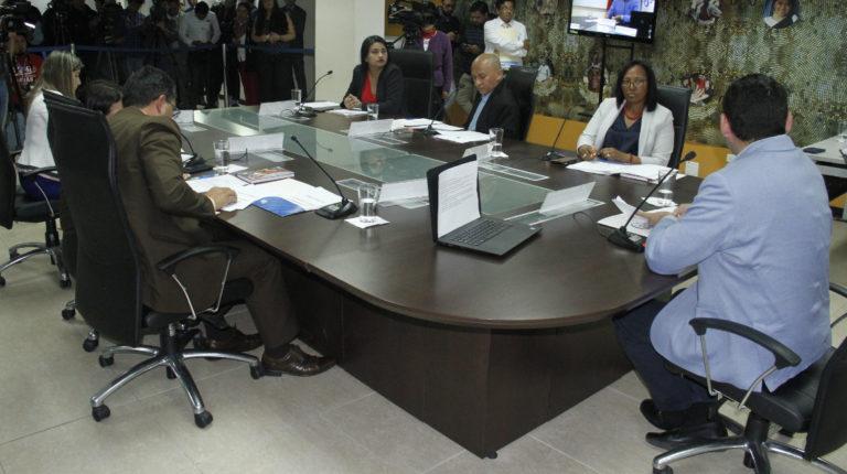 El Pleno del Consejo de Participación Ciudadana y Control Social.