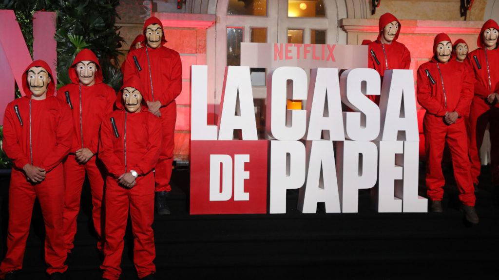 La cuarta temporada de La Casa de Papel se escribe en las Islas Galápagos