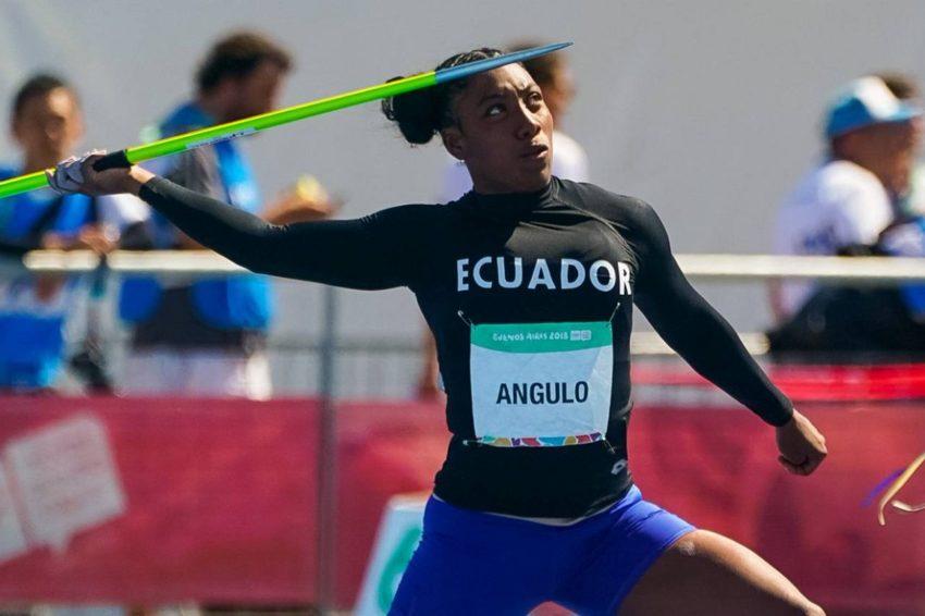 Yuleisy Angulo obtuvo el oro en el lanzamiento de jabalina en Costa Rica.