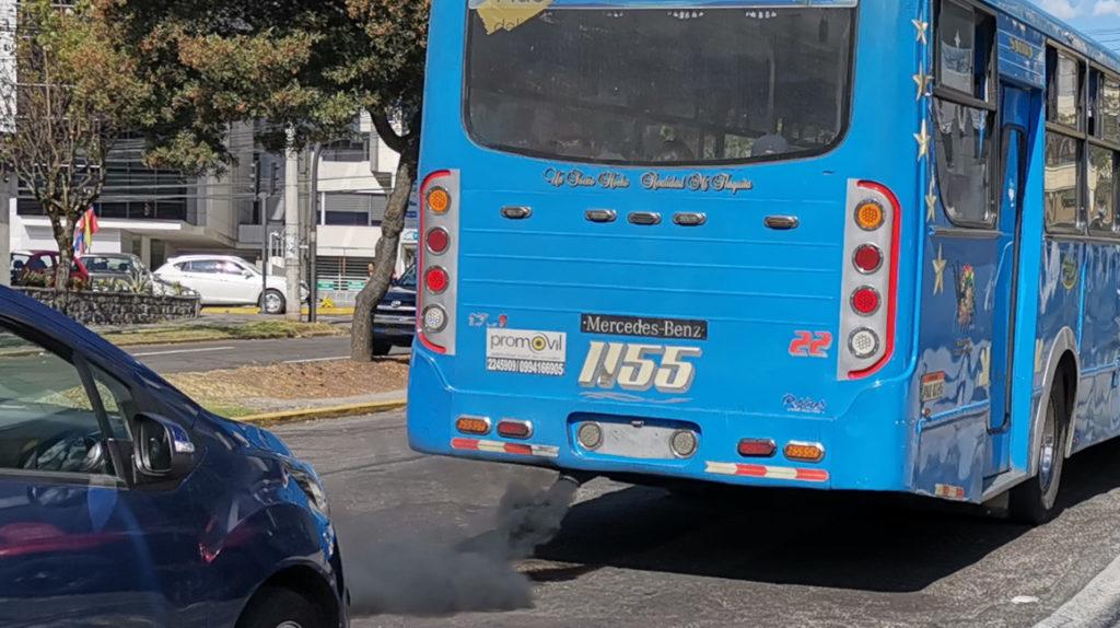 El aire de Quito supera los límites permitidos de contaminación