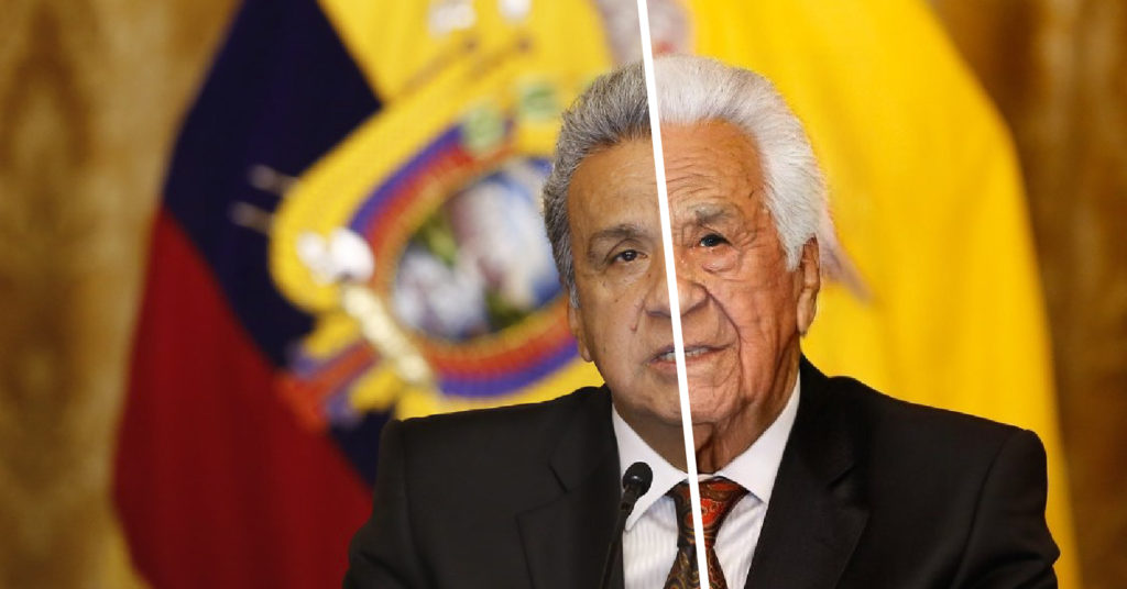 Cinco políticos ecuatorianos sometidos a su vejez en FaceApp
