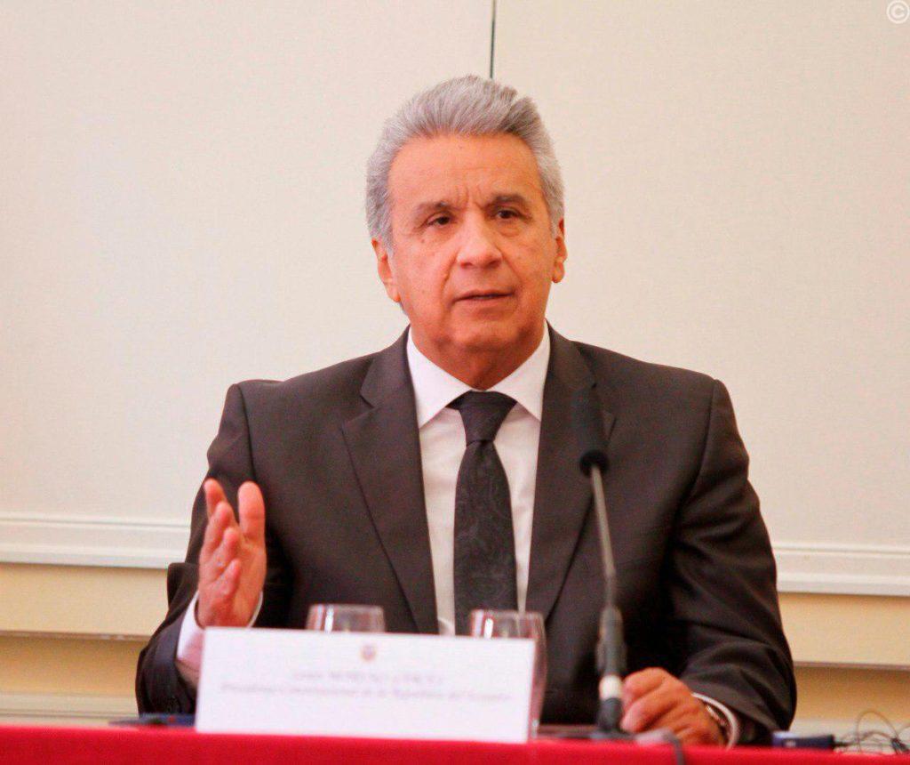 Presidente Moreno se reunirá con el Ministro de Reino Unido