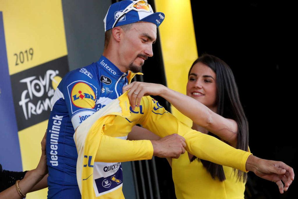 Tour de Francia Julian Alaphilippe se queda con el maillot amarillo, en la cuarta etapa
