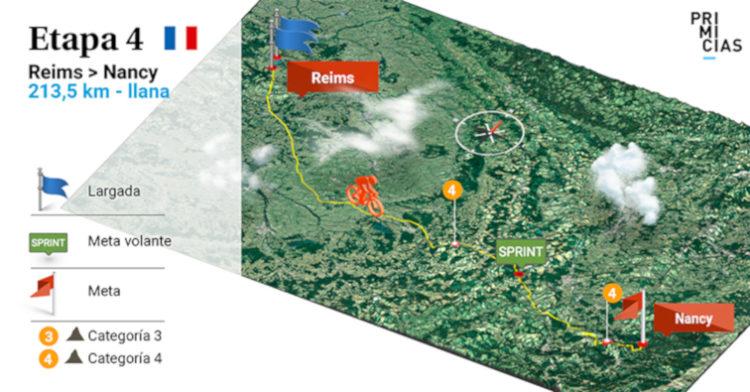 Tour de Francia, etapa 4