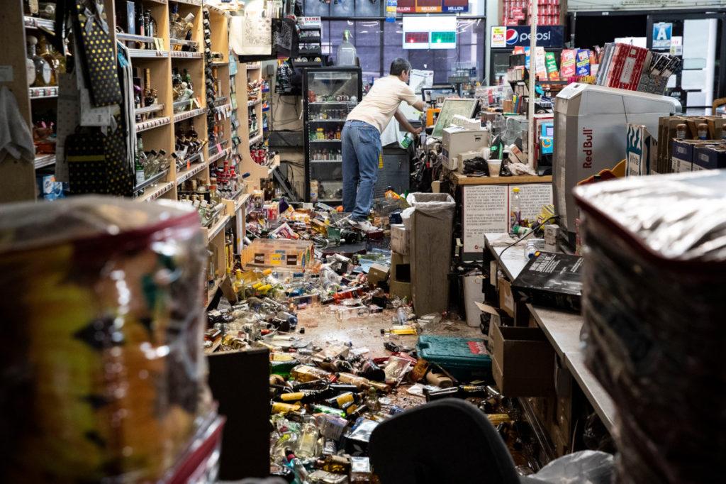 California en emergencia por réplicas del terremoto de magnitud 7,1