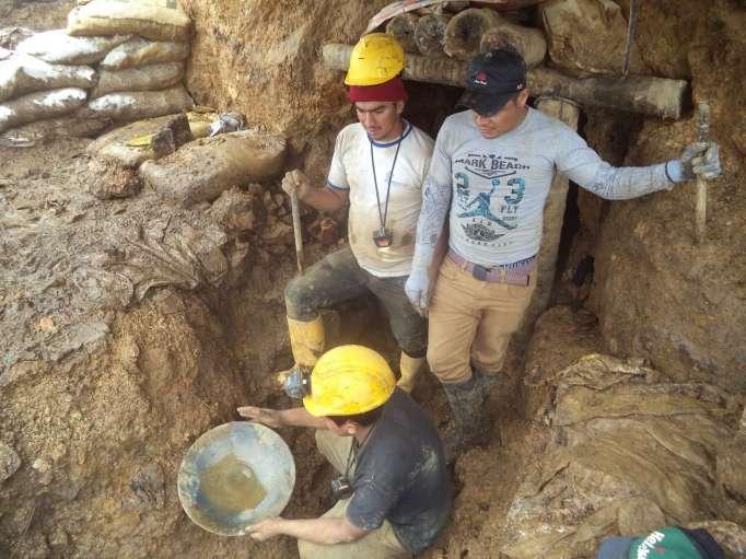 Extracción de oro en Buenos Aires no tiene ninguna técnica de minería, advierten expertos.
