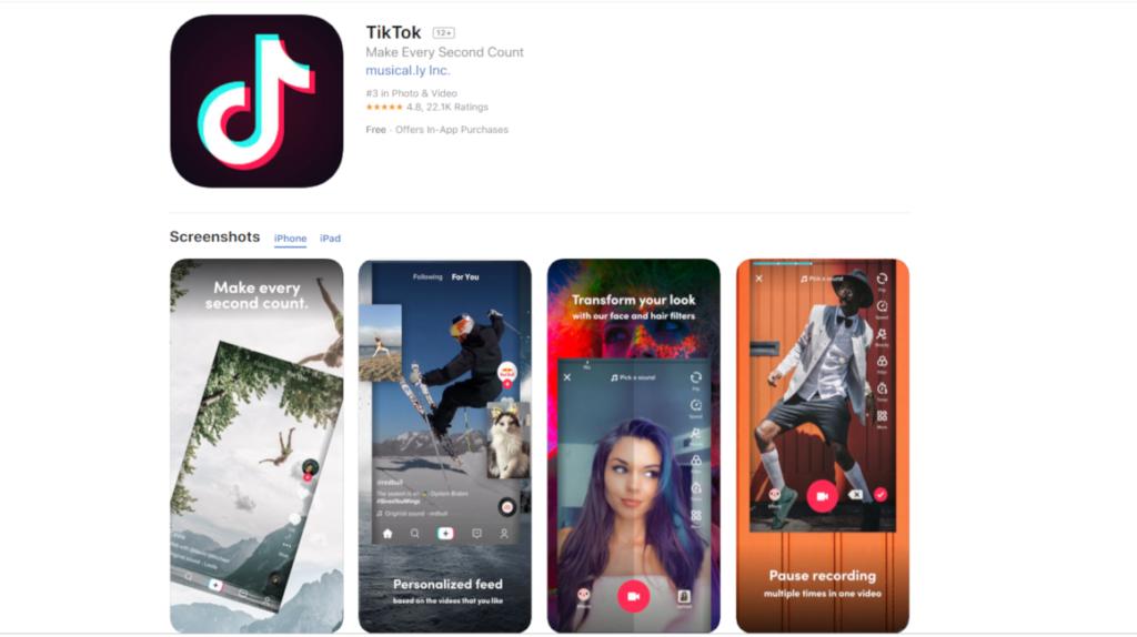 Tik Tok es investigada por el uso de información personal de niños y adolescentes