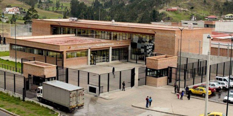 Imagen referencial de la fachada de la Cárcel de Turi.
