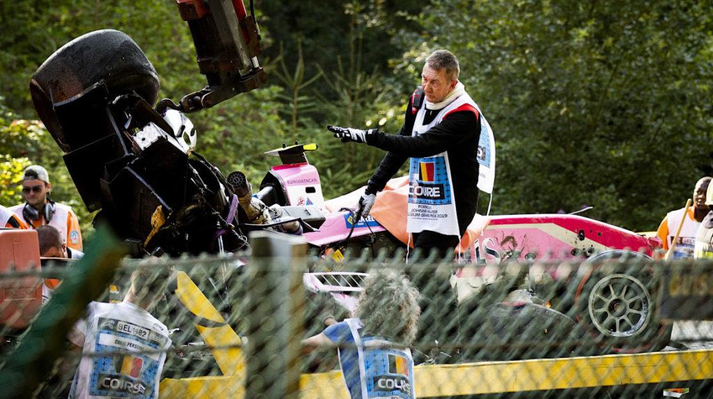 Piloto Juan Manuel Correa se accidentó en la F2